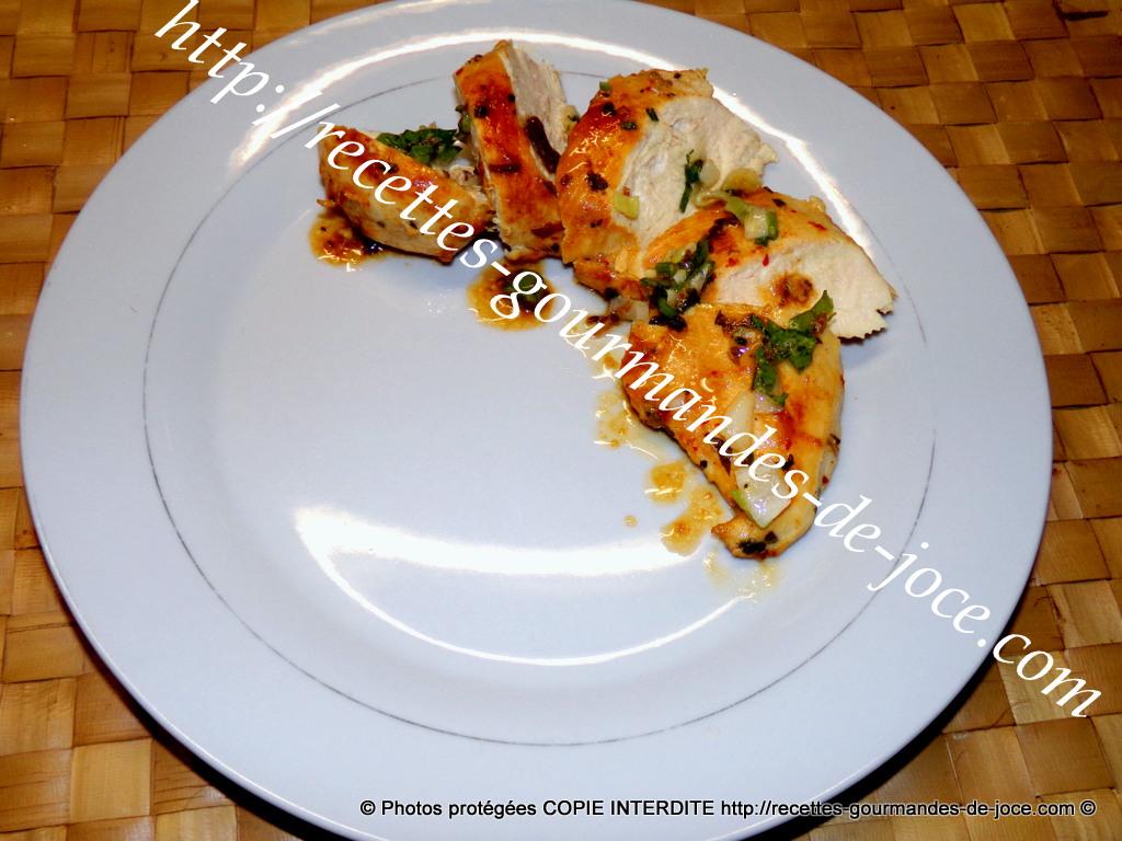 Poitrines de poulet au miel et citron - Recettes - Cuisine