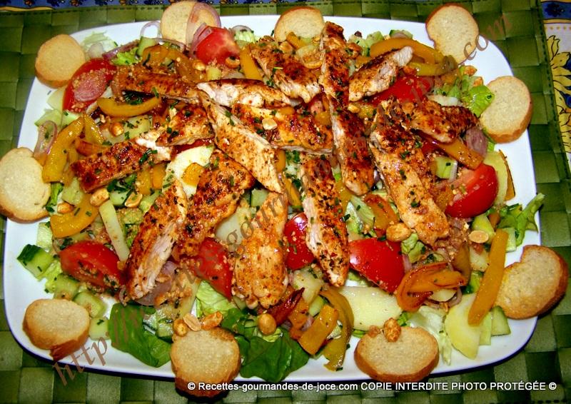 D coration entr e salade - Salade de tomates simple ...